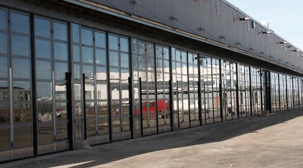 rambyggd industriport