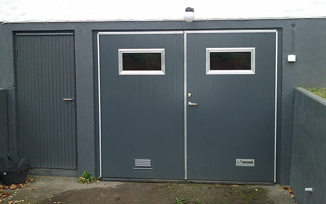 torverk slagport garage