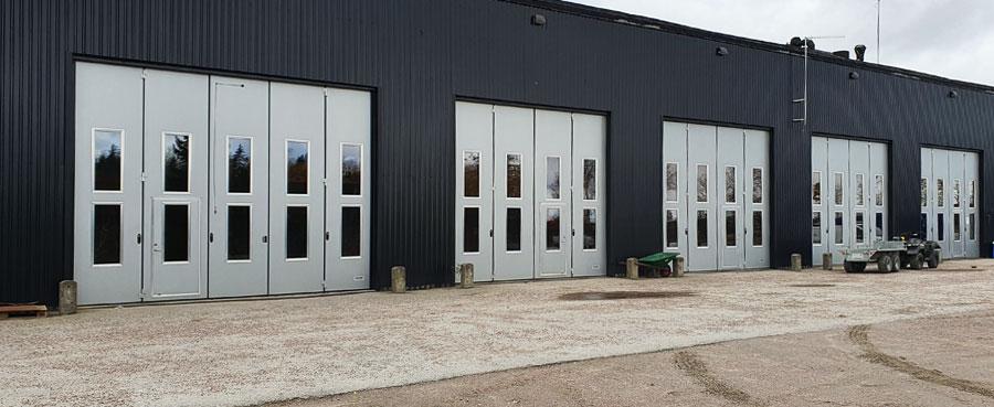 Torverk installerar sju vikportar till Öknaskolan