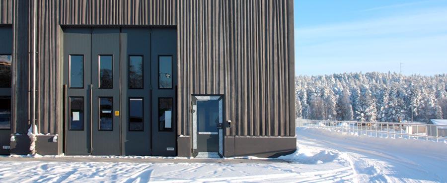 Torverk eldrivna vikportar till Räddningsstationen Luleå