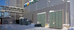 Torverk levererar manuella vikportar till HYBRIT i Luleå